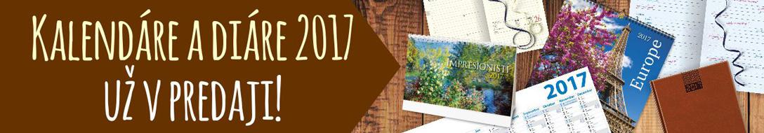 kalendáre a diáre 2017